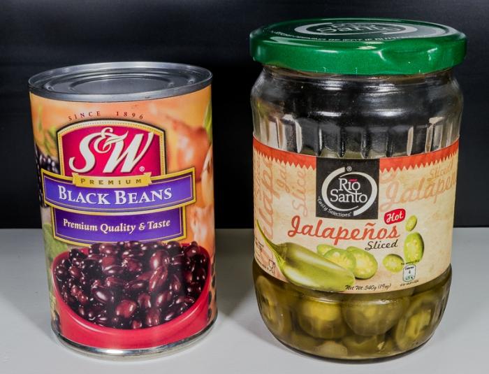 Black Beans & Jalapenos